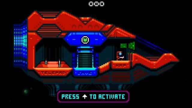Xeodrifter in-game screen image #1