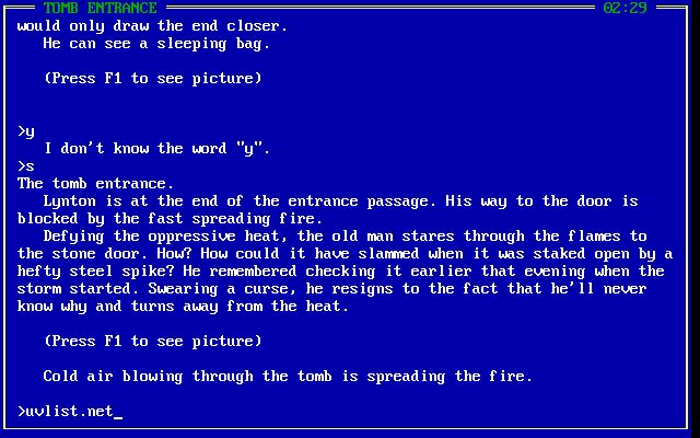 Demon's Tomb: The Awakening in-game screen image #2