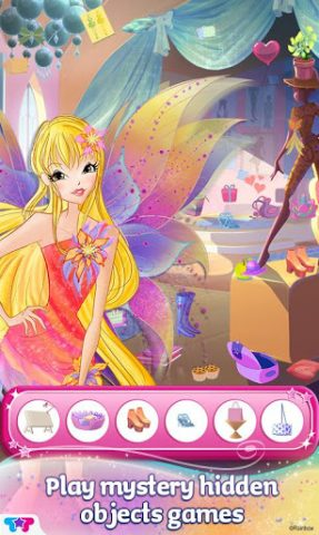 Winx Club Mythix Fashion Wings in-game screen image #2