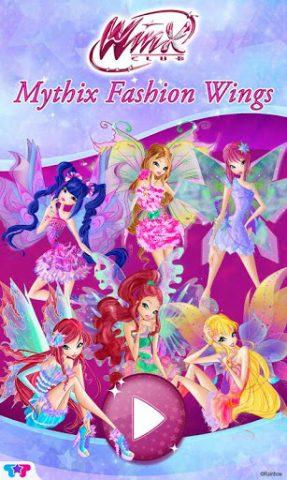Winx Club Mythix Fashion Wings title screen image #1