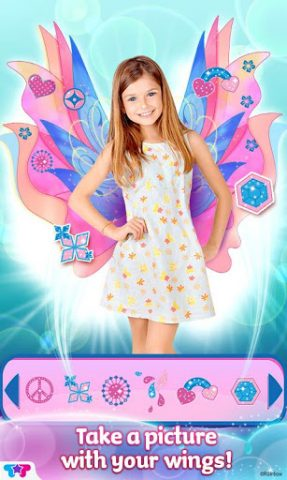 Winx Club Mythix Fashion Wings in-game screen image #1