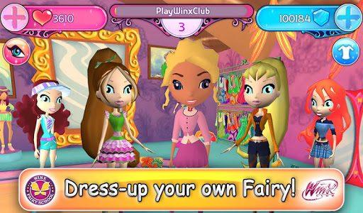 Winx Club: Winx Fairy School  in-game screen image #2
