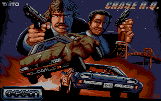 Chase H.Q. title screen image #1