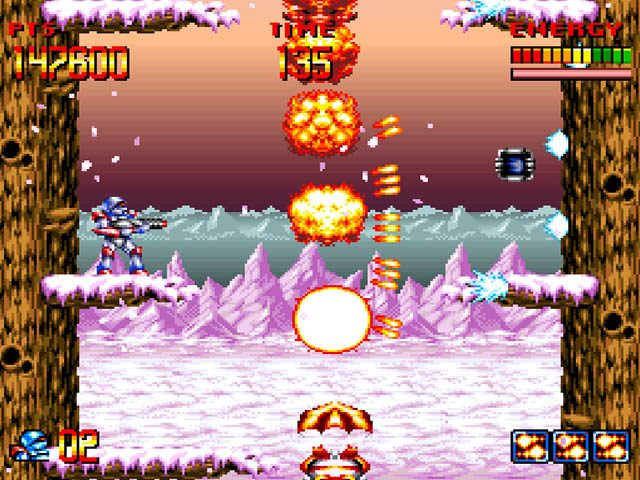 Super Turrican  in-game screen image #1