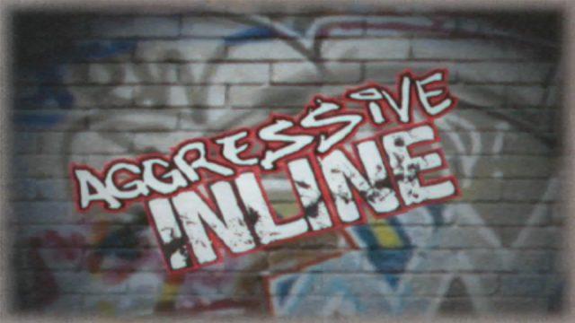 Aggressive Inline  title screen image #1