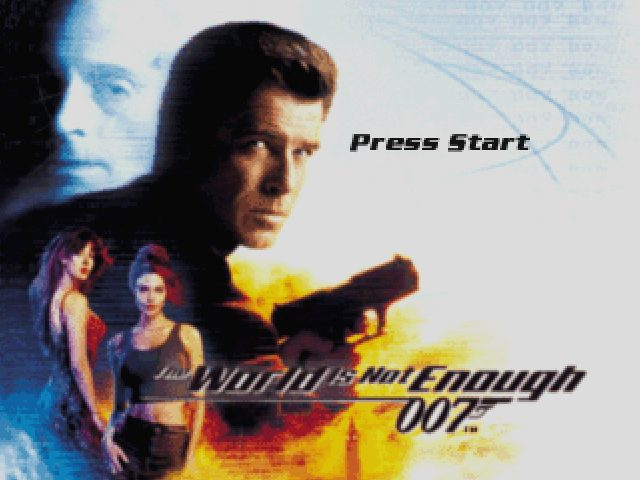 007: The World is Not Enough  title screen image #1