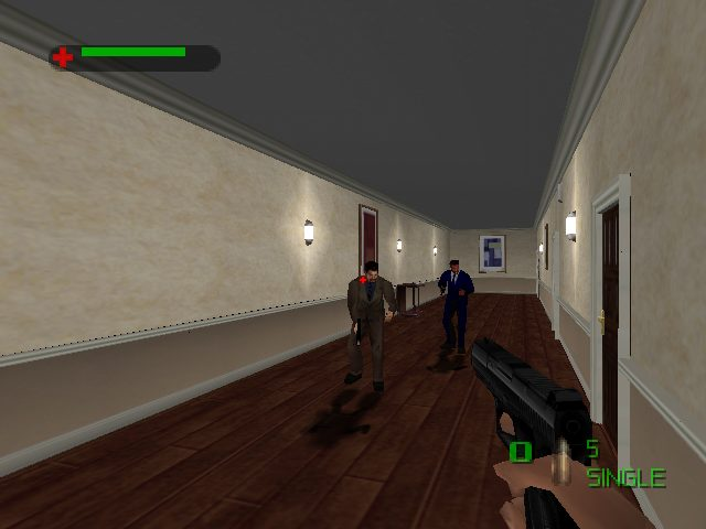 007: The World is Not Enough  in-game screen image #2