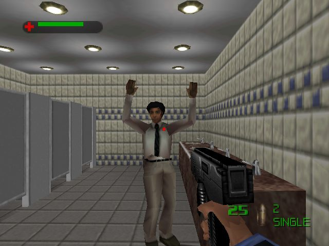 007: The World is Not Enough  in-game screen image #1