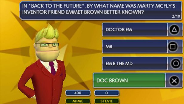 Buzz! Master Quiz in-game screen image #2