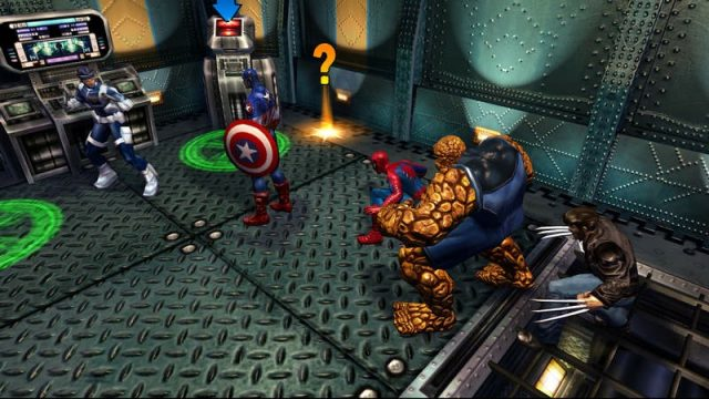 Marvel: Ultimate Alliance 2 in-game screen image #1