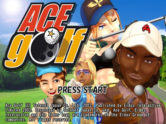 Swingerz Golf  title screen image #1