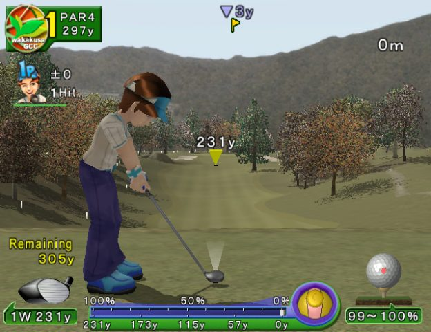 Swingerz Golf  in-game screen image #1