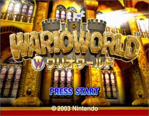 Wario World title screen image #1