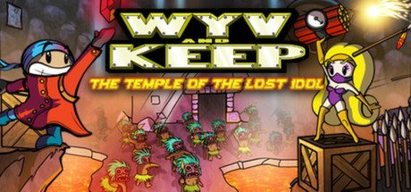 Wyv and Keep: The Temple of the Lost Idol title screen image #1