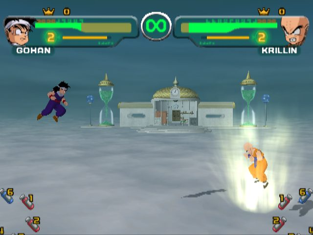 Dragon Ball Z: Budokai  in-game screen image #1