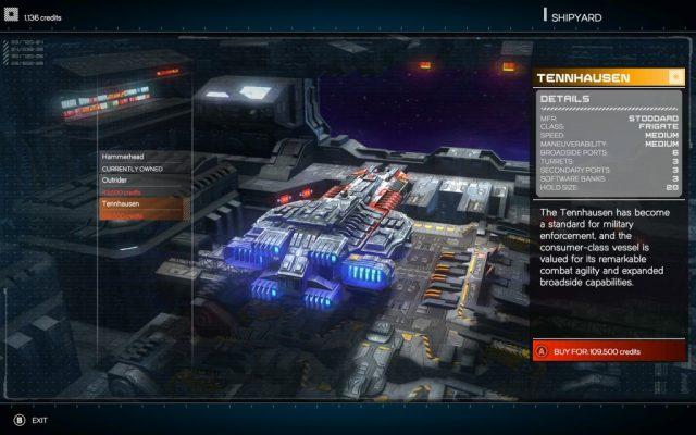 Rebel Galaxy in-game screen image #1