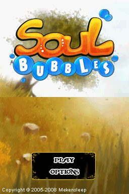Soul Bubbles  title screen image #1