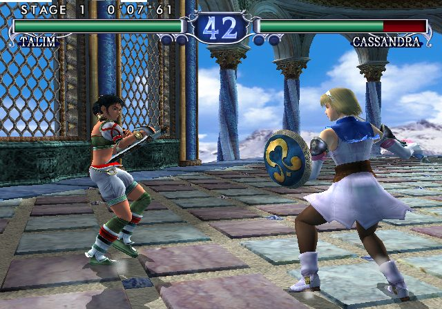 SoulCalibur II  in-game screen image #1