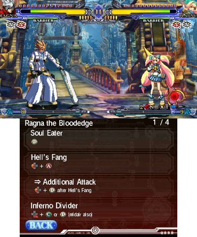 BlazBlue: Continuum Shift II in-game screen image #1