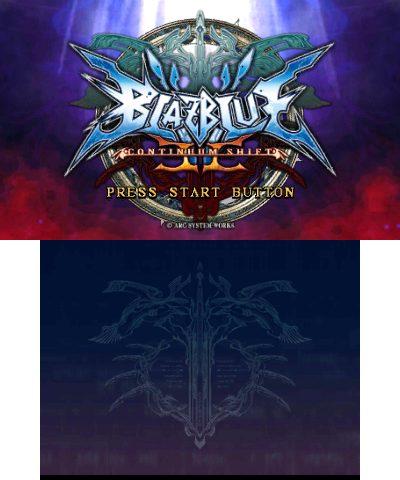 BlazBlue: Continuum Shift II title screen image #1