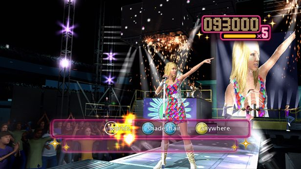 Hannah Montana: The Movie in-game screen image #3