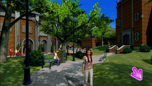 Hannah Montana: The Movie in-game screen image #2