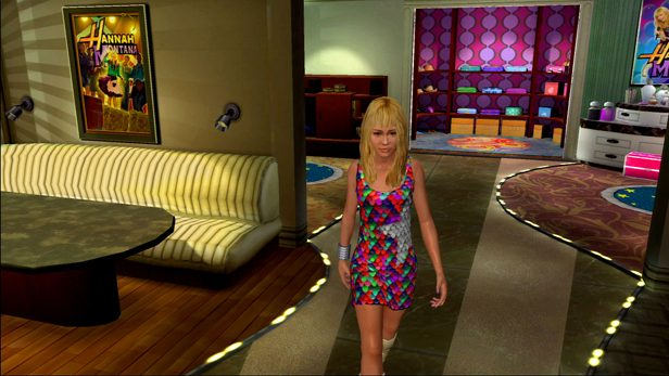 Hannah Montana: The Movie in-game screen image #1