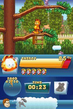 Garfield's Fun Fest in-game screen image #1