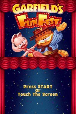 Garfield's Fun Fest title screen image #1