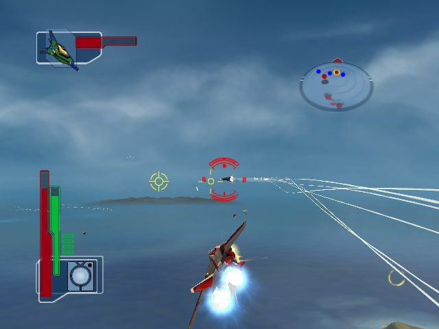 Robotech: Battlecry in-game screen image #1