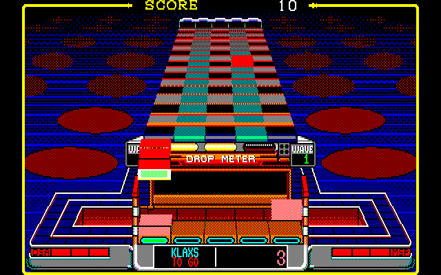 Klax  in-game screen image #1