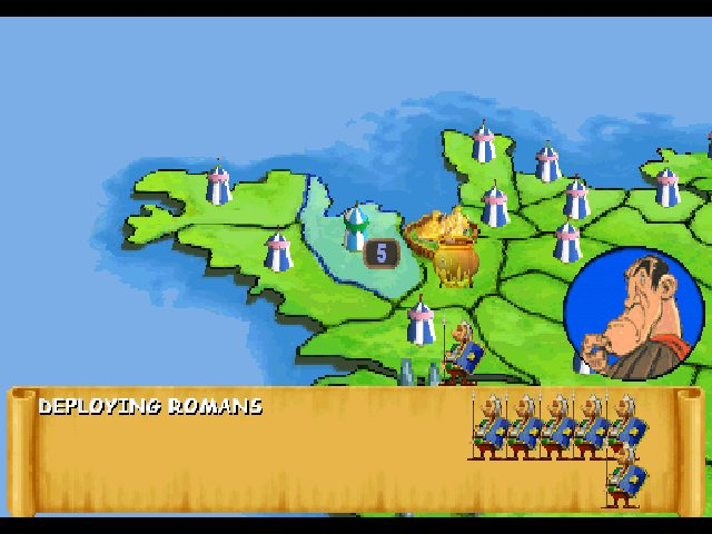 Asterix  in-game screen image #1