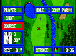 Top Player's Golf in-game screen image #5