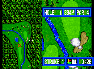 Top Player's Golf in-game screen image #3