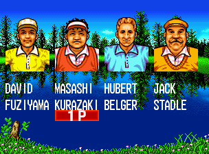 Top Player's Golf in-game screen image #2
