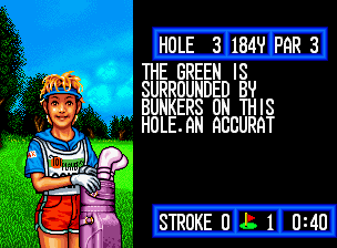 Top Player's Golf in-game screen image #1