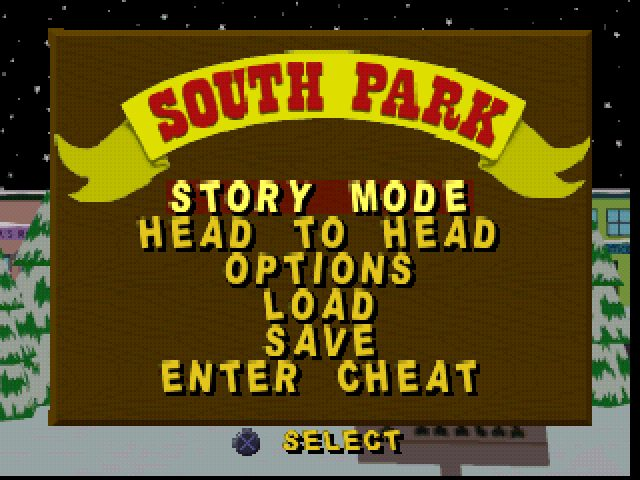 South Park title screen image #1