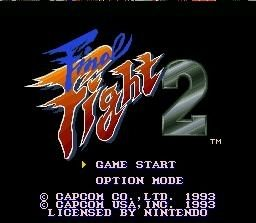 Final Fight 2 title screen image #1