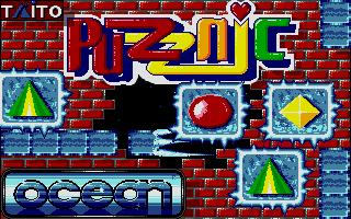 Puzznic title screen image #1