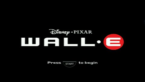 WALL-E  title screen image #1