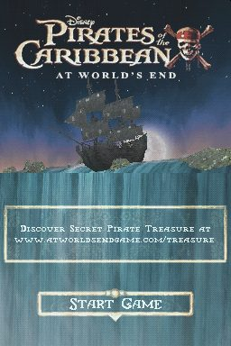 Pirates of the Caribbean: At World's End title screen image #1