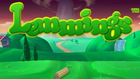 Lemmings title screen image #1