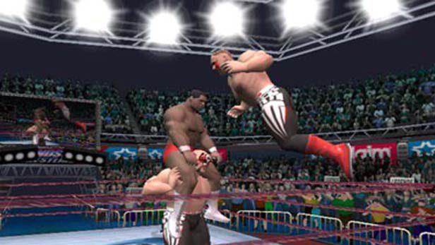 Legends of Wrestling in-game screen image #1