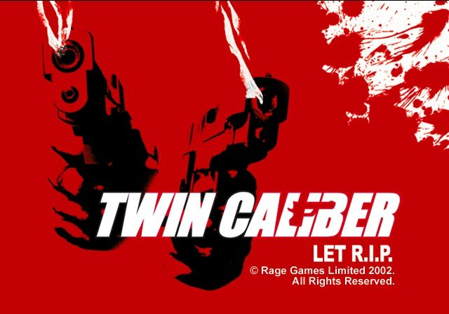Twin Caliber title screen image #1