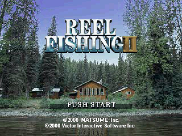 Reel Fishing 2  title screen image #1