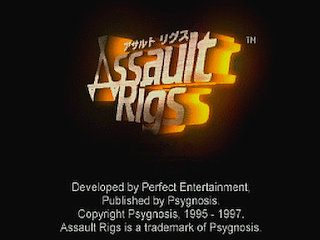 Assault Rigs  title screen image #1