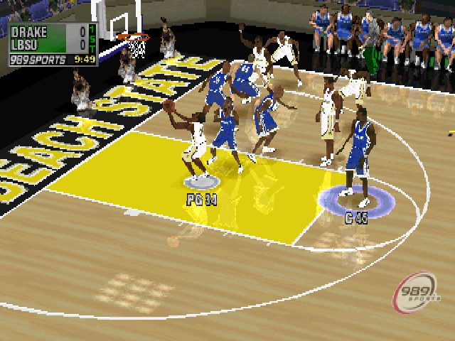 NCAA Final Four 2001 in-game screen image #1