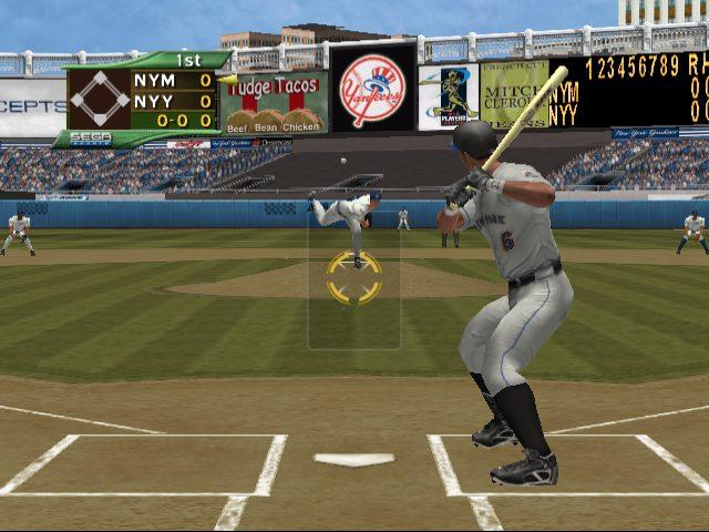 World Series Baseball 2K2 in-game screen image #1