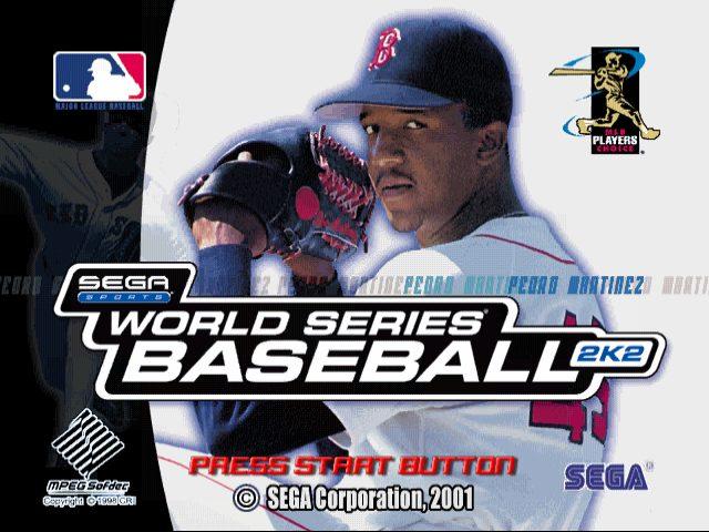 World Series Baseball 2K2 title screen image #1