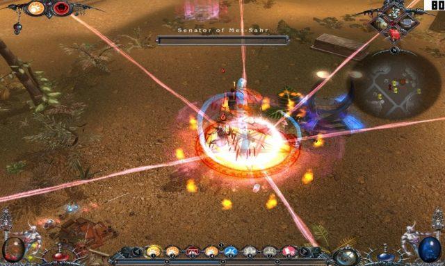 Dawn of Magic 2  in-game screen image #2